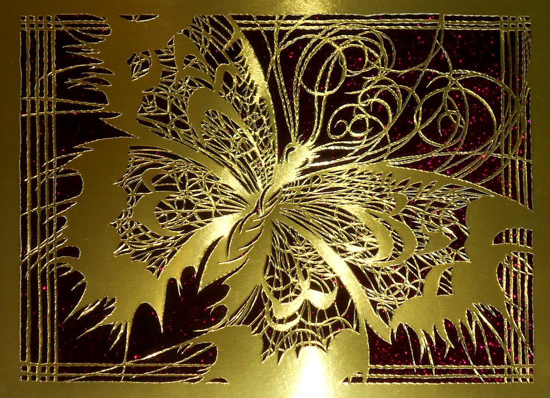 Metamorphosis in Gold