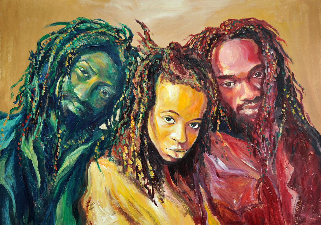 Black Uhuru in Red, Gold and Green