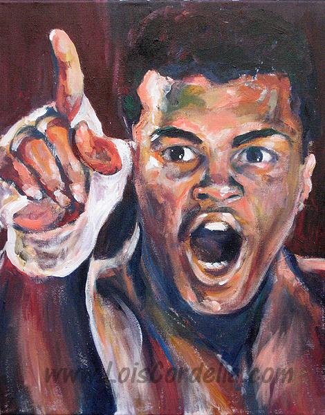 Muhammad Ali - Cassius Clay