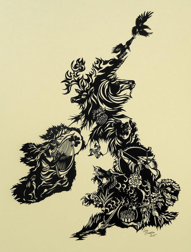 """The British Isles - for Isla"""