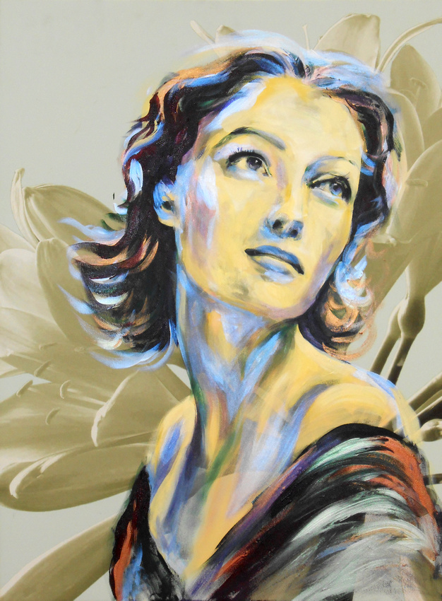 Loretta Young (1 hr 20 mins speed-painting)